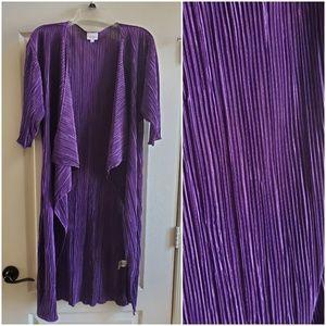 Lularoe Shirley purple kimono